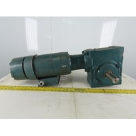 Dodge 35A15R14 15:1 Ratio 117RPM 2Hp 208-230/460V Right Hand Gear Motor Brake