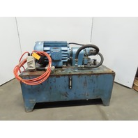 10 HP 75 GALLON Hydraulic Power Unit 400-440V 3Ph 50Hz Only