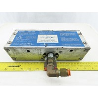 Mead CSV-102 Air Piloted Valve 3 Port Single Pilot 1/4 NPT 70-100PSIG