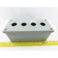 Wiegmann PBXD4 Extra Deep Push Button Enclosure 10x4x5