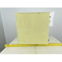"Hoffman A242412LP 24 x 24 x 12"" Type 12 Electrical Enclosure W/ Cooling Fan"