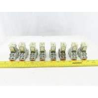 Square D RSD42P14V53 Mixed Lot Ice Cube Relay 24V Coil W/ Socket Lot Of 8