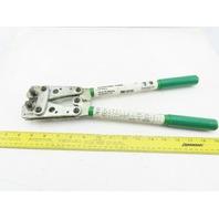 Greenlee K05-1GL K-Series Crimping Tool 8-1/0 AWG Cu