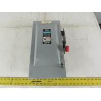 Siemens GF222N 60A 240V Indoor Fusible Safety Switch Disconnect 2 Pole