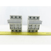 Siemens 3NW7 031 3 Pole 600V 30A Fuse Holder Lot of 2