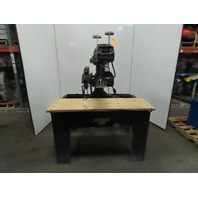 "Black & Decker DeWalt 3571 7.5Hp 16"" Industrial Radial Arm Saw 230/460V 3Ph"