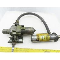Vortec 701 Panel Guard Cooler W/AW40-04-B SMC Air Filter Regulator & Hose
