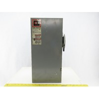 Cutler Hammer DG323NGB Ser B 100A 240V 3 Pole Fusible Disconnect Safety Switch