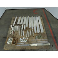 Allen Bradley 1492-F1 Terminal Strip Block Rails End Blocks & Jumpers Lot of 974
