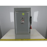 Siemens HF364 Type VB11 200A 600V 3PH Fusible Safety Switch Disconnect