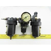 "Watts L606-03W M10 3/8"" Air Pneumatic Filter Lubricator Regulator"