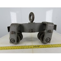 "Cast Iron Push/Pull 4"" Wheeled Beam Trolley"