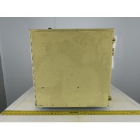 """Hoffman 24 x 24 x 12"""" Electrical Enclosure With Ventilation Fan"""