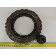 """Avon 7932 20"""" Slewing Ring Bearing w/79T Outer Gear & 17T Pinion Gear"""