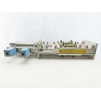 "Salina Vortex B08 25550 2-1/4"" Pneumatic Slide Gate Dry Material Cut Off Valve"