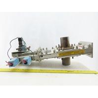 "Salina Vortex B03 25550 2-1/4"" Pneumatic Slide Gate Dry Material Cut Off Valve"