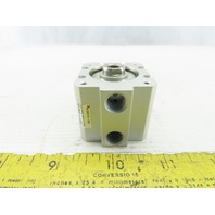 "SMC NCQ8A106-050 Pneumatic Air Cylinder 1-1/16"" Bore 1/2"" Stroke 200 psi"