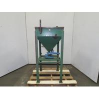 "Syntron 22"" x 22"" Bulk Material Dry Particulate Loader Vibratory Feeder Hopper"