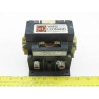 Ward Leonard 78091-50R Contactor 75A 600VDC 120V 50/60Hz