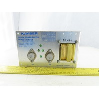 Kayser 23215A Power Supply 15V/0.8A 47-63Hz