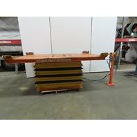 "HovAir Automotive 4000LB Pneumatic Scissor Lift 98""x64"" Turn Table 15-39"" Height"