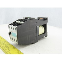 Siemens 3TH42 62-0BB4 Control Relay 24VDC 16A DIN Rail Mount