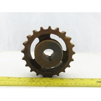 "Martin 881C21 800 Series 21 Tooth Conveyor Chain Sprocket 1-1/8"" Bore"