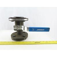 "Jamesbury 530S 31 2236-MT 1-1/2"" Flange Ball Valve 740 PSI"
