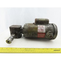 Dorner 33E161W427 10:1 Ratio 172.5RPM 1/4Hp 115/230V 1Ph Gear Motor