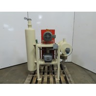 Sutorbuilt GABLDPA 3LP 5Hp Positive Displacement Blower Package 208-230/460V