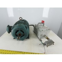 Reliance DS16U 7-1/2Hp 1740RPM 230/460V 213T Motor W/Haz Location Disconnect
