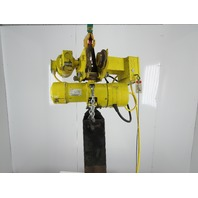 Budgit BEH0216 2 Ton 4000Lbs 17' Travel 60FPM 460V Powered Trolley Chain Hoist