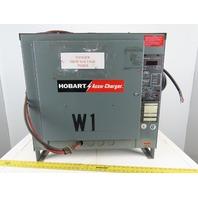 Hobart 600C3-12 208-240/460V Input 12 Cell 24VDC Forklift Battery Charger