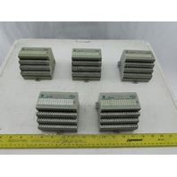 Allen Bradley 1794-OB16/A FlexBus I/O Module Series A W/1794-TB3 Base Lot of 5