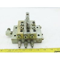 Lubriquip MSP-40T MSP10S Trabon Lubrication Divider Valve Manifold Assembly