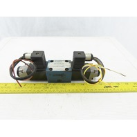 Rexroth 4640864 4/3 Position Double Solenoid  Valve 48VDC