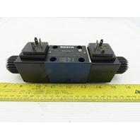 Bosch 081WV06P1V1005WS 4/3 Position 4500PSI Solenoid Hydraulic Valve 115V Coil