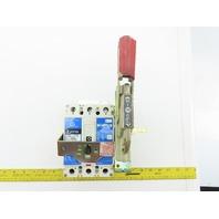 Cutler Hammer HFD3040L/C Industrial Circuit Breaker 40A 3 Pole 600VAC-250VDC