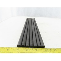 """EDM  (3) 15/32"""" (4) 11mm Graphite Round 12"""" Long Stock Lot of 7"""