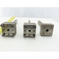 """EDM Electrode Holder Tooling .473""""x.890""""x 6.500"""" Projection Lot of 3"""