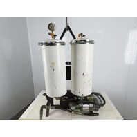 Tiocco T-2000-R/M 1/2Hp 208-230/460V 2 Stage Hydraulic Oil Filtration System
