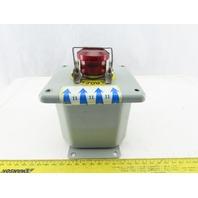 Hoffman ED1PBM2 Push Button Enclosure 3.5x4x3.75In 22mm Hole
