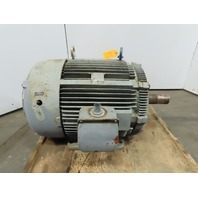 Westinghouse 50 HP AC Electric Motor 2 Speed 1770/885RPM 444T 460V 3Ph