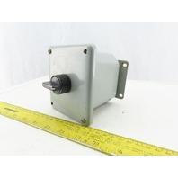 Hoffman ED1PBM2 Enclosure Type 4,12,13 W/ Black On off Switch