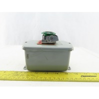 Hoffman E-D1PB1 Enclosure Type 4,6,12,13 W/800H-FRXMQ24 A7/F 24V Push Pull Estop