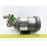 Tuthill 1LEV CCA .5Hp 1425RPM 3Ph 48YZ 220/440V 50/60Hz Motor Pump