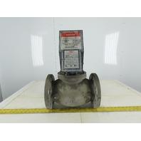 """Honeywell V4055E 1024 Fluid Power Gas Valve Actuator 120V 4"""" Flanged"""