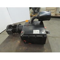 Becker U 4.250 SA/K Rotary Vane Oil Lubricated Vacuum Pump 480V 6.6KW 3 Bar