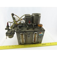 Showa Double Reservoir Oiler Lubricator 100/110V From a Mazak QT-20N CNC Lathe