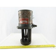 Gusher VBV-44F Immersed Horizontal Flange Mounted Coolant Pump 220V 3ph